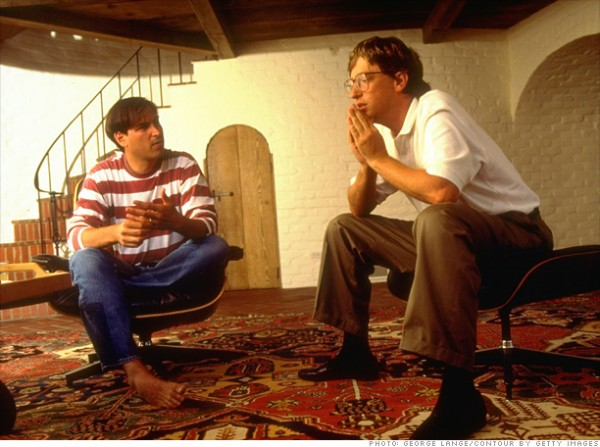乔布斯和盖茨到底是怎样相互看待对方的?